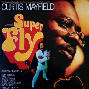 Curtis Mayfield ‎- Superfly: The Original Motion Picture Soundtrack (LP) (G-VG/VG-)